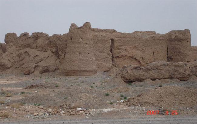 تخریب آثار باستانی روستای شهراب